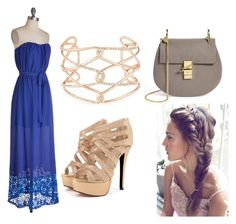"""""""Summer evening"""" by rainbowpjd on Polyvore"""
