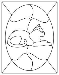 Easy Stained Glass Patterns | stained glass patterns for free: Free stained…