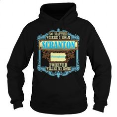 Scranton in Pennsylvania - #teens #hoodie jacket. MORE INFO => https://www.sunfrog.com/States/Scranton-in-Pennsylvania-Black-Hoodie.html?60505