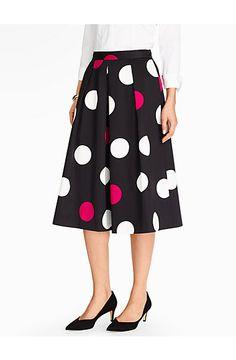 Dashing Dots Skirt - Talbots