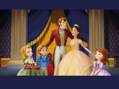 """Sofia the First"" 1024by768 Desktop Wallpaper: Sofia's Family ..."