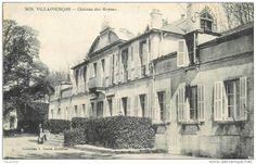Frankreich - 58 VILLAPOURCON chateau des moynes 2 scans
