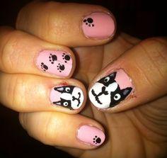 Dog nails... <3 frenchie