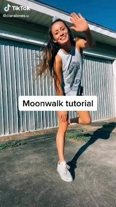 How to Moonwalk Shuffle ~ TikTok Tutorial- Does you use TikTok for your business? Save this tutorial for later and check the link for more biz scaling freebies. Hip Hop Dance Videos, Dance Workout Videos, Dance Music Videos, Dance Choreography Videos, Gymnastics Tricks, Gymnastics Workout, Gymnastics Stretches, Cool Dance Moves, Dance Tips