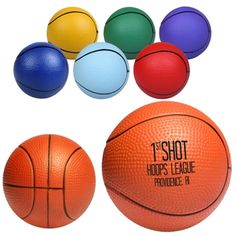 Score some excitement at your tradeshow booth with this basketball #promotional stress reliever. #epromos