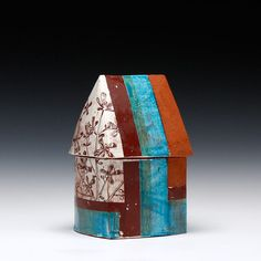 Schaller Gallery : Artist : Stacy Snyder : House Jar
