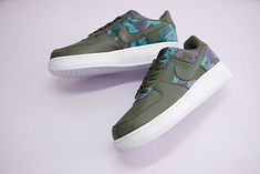 NIKE AIR FORCE 1 LV8 07 COUNTRY CAMO DARK STUCCO 823511 008 #outlet  #outletthailand