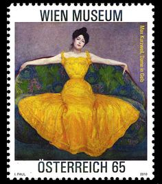 Wien Museum: Max Kurzweil - Lady in Yellow Set