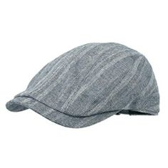 7aae7722bca WITHMOONS Herringbone Stripe Cotton Newsboy Hat Flat Cap LD3032 Review News  Boy Hat