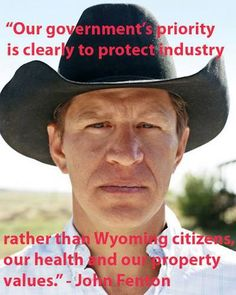 TAKE ACTION: Tell the Obama Administration: don't put fracking advocates in charge of a fracking water contamination study! #standwithWY