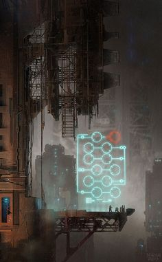 It's my Cake Day so I got a Cyberpunk art dump for you all. Cyberpunk Kunst, Cyberpunk 2077, Sci Fi Environment, Environment Design, Science Fiction Kunst, Pen & Paper, Futuristic City, Matte Painting, Art Graphique