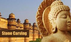 Stone carving - Rajasthan (Makrana Marble, Soapstone, Lattice Work) Simulpur in West Bengal, Tamil Nadu (Granite, soapstone/Maakal), Hamirpur, UP, Bihar, Orissa - Cuttack, Puri, MP