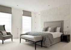 color gris dormitorios matrimonio