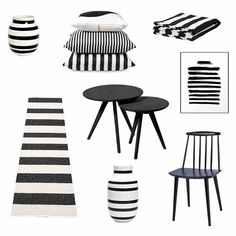 So I may have an obsession with stripes of the black and white variety! Here is little board I've created as inspiration for our informal dining and living area! Click for details! #jay77 #haychair #select21 #weekdaycarnival #rkdesign #ommagio #kahlerdesign #cittadesign #blackandwhitestripes #monochrome #decor #eivorthrow  #outdoorrug