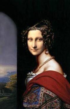 Mona Lisa Portrait, Mona Lisa Images, Mona Friends, La Madone, Mona Lisa Parody, Mona Lisa Smile, Old Movie Posters, Renaissance Artists, Window Art
