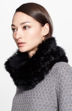 St. John Genuine Rabbit Fur Snood #1010ParkPlace #WhereStyleIsAgeless http://www.1010parkplace.com/accessories