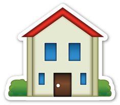 House Emoji, When Is My Birthday, Emoji Stickers, Overlays, Building A House, 1, Instagram, Clip Art, Holiday Decor