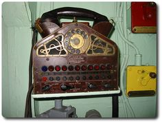 téléphone steampunk