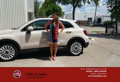 The most wonderful experience I have had negotiating and purchasing a vehicle. I found out about the Fiat 500X at the 'Til Midnight at Nasher a couple weeks ago. Amanda (owner of the dealership) was very informative and easy to speak with. Araceli followed up with me a couple days later via email. She was very friendly and answered all questions I had regarding financing, trade in, features on the car, etc... Upon arriving to the dealership, I was greeted immediately and within seconds I was…