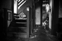 Inside abandoned house