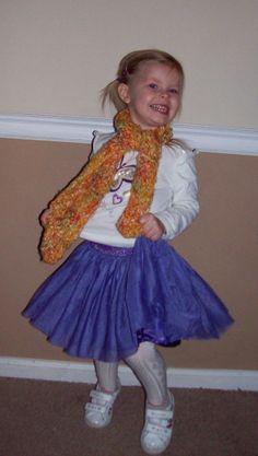 Orange Scarf for Child