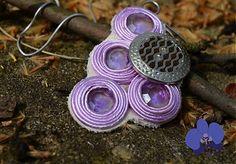 Fialový poklad by Blue.Orchid - SAShE.sk - Handmade Prívesky