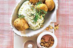 Basenfasten: Pellkartoffeln mit Avocadocreme