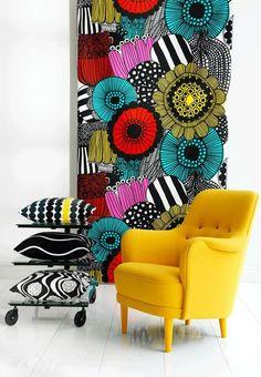 Un diseño interior más moderno y colorido una tendencia que está tomando un importante lugar entre la gente que re-decora su hogar.