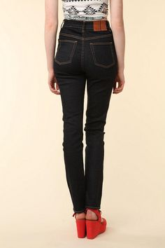 wood wood high-waisted jean $165