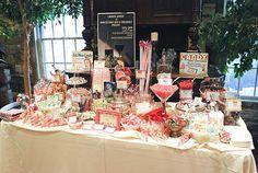 retro candy bar | Retro Themed Candy Bar - A Sweet Spot Home