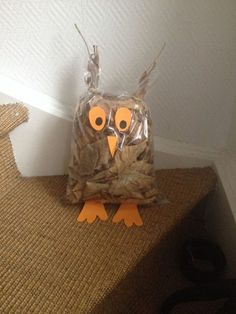 Pojedynczy Post - Fall Crafts For Toddlers Autumn Crafts, Fall Crafts For Kids, Nature Crafts, Toddler Crafts, Diy For Kids, Kids Crafts, Arts And Crafts, Owl Crafts, Animal Crafts