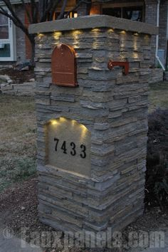 Beautiful Residential Mailboxes | Mailbox Design Photo Gallery