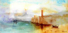 Artwork >> Bernadette Malecki >> Serene #artwork, #masterpiece, #color, #bright, #painting