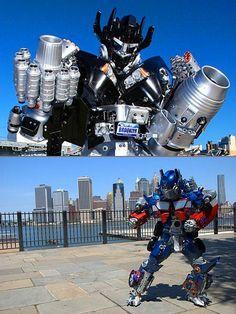 Geek Creates Amazing Transformers Costumes