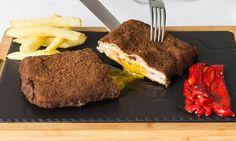 Sabor+asturiano:+Así+es+y+así+se+cocina+el+'Mejor+cachopo+de+España' Koh Tao, Steak, Beef, Popular, Recipes, Food, Spanish Food, Best Recipes, Drinks