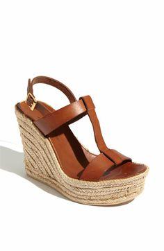 Delman 'Trish' Sandal (Online Only) | Nordstrom Black and brown