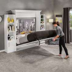 "See our site for additional relevant information on ""murphy bed ideas ikea queen size"". It is an excellent spot for more information. Murphy Bed Desk, Murphy Bed Plans, Murphy Bef, One Room Flat, Murphy Bed Hardware, Murphy-bett Ikea, Fold Up Beds, Modern Murphy Beds, Hidden Bed"