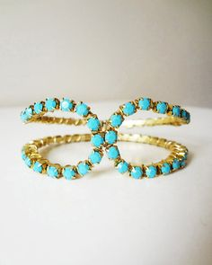 Turquoise Crystal Fix Bracelet...JewelMint