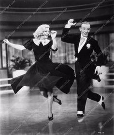photo Fred Astaire Ginger Rogers dance sequence film Swingtime 2174-28