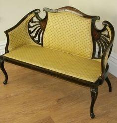 Art Nouveau sillón
