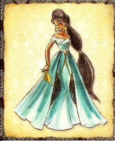 Jasmine (Disney Designer Princess Collection)