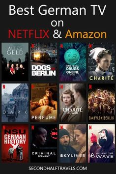 Good Movies On Netflix, Good Movies To Watch, Shows On Netflix, Tv Series On Netflix, Netflix Netflix, Study German, Learn German, Learn Russian, Learn French
