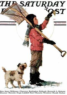 Snow Shoveler – January, 3 1931- Eugene Iverd