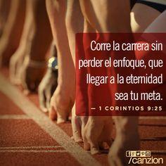 «Todos los atletas se entrenan con disciplina. Lo hacen para ganar un premio que se desvanecerá, pero nosotros lo hacemos por un premio eterno». — 1 Corintios 9:25