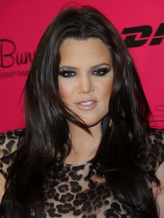 See Khloé Kardashian's Beauty Evolution in 20 Photos: At Mercedes-Benz Fashion Week Swim in Miami in 2010   allure.com