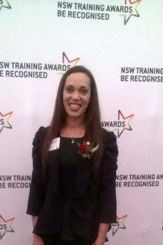 Congratulations Jameela! Aboriginal &Torres Strait Islander Student of the Year.