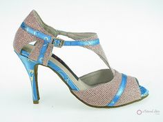 Natural Spin Designer Salsa Shoes/Tango Shoes/Fashion Shoes(Boot Style):  D1525_