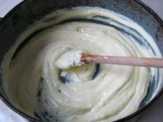 se amesteca branza cu ouale batute Icing, Desserts, Food, Tailgate Desserts, Deserts, Essen, Postres, Meals, Dessert