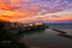 The Pearl - The magnificent medieval old town of Vieste (the Pearl of Gargano) - Apulia - Italy
