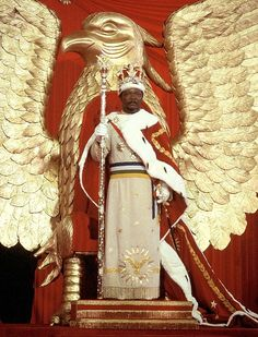 Emperor Bokassa: Born Jean Bedel Bokassa, he declared himself emperor of the Central African Republic (Empire) and bankrupted the country
